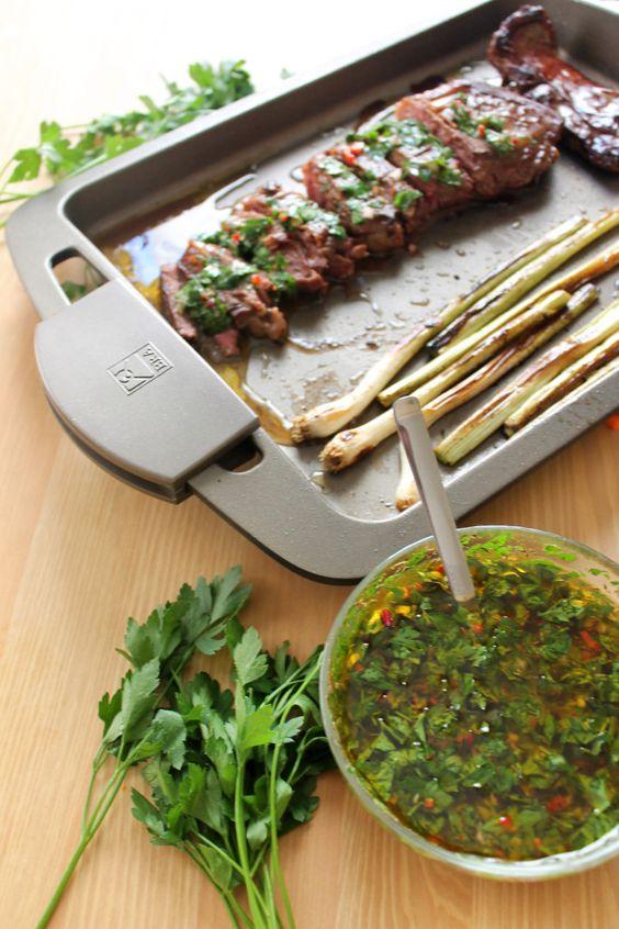 Cómo hacer salsa chimichurri. Receta argentina | Argentina ...