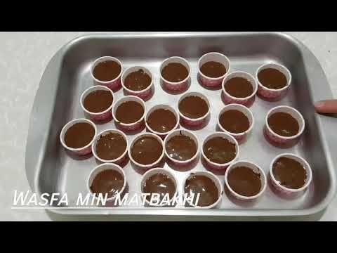 الحلوة لي حضرتها للحفل المدرسي اروع ميني كاب كيك شكلاطة كي لقطن Youtube Muffin Pan