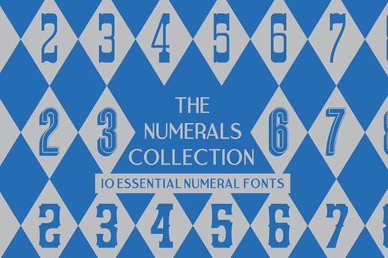 The Numerals Collection @creativework247