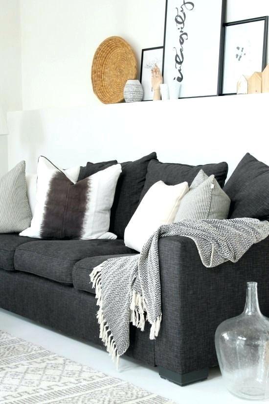 Dunkelgrau Couch Wohnzimmer Dekoration Ideen Wohnung Dekoration Wohnzimmer Inspiration Wohnzimmer Dekoration Ideen