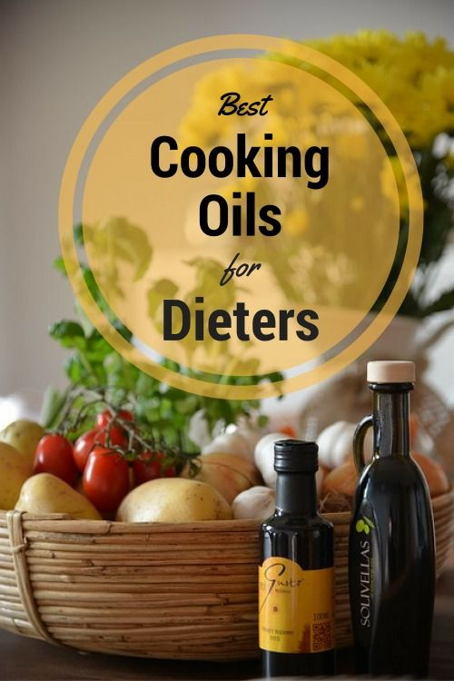 Best cooking oil for dieters.