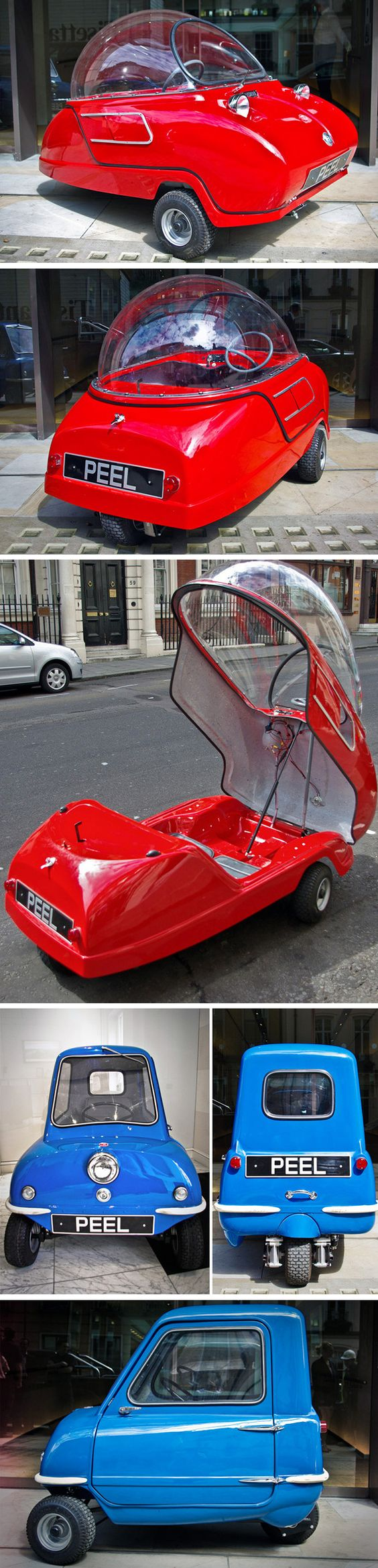 "Peel Engineering typically more than 95% of a car's energy is used just to move itself, The Carless Class is defined by eliminating this old fashioned ""car equation."" Vehicles in The Carless Class still have a full fairing but often just 3 wheels, some have pedal and most have electric assist."