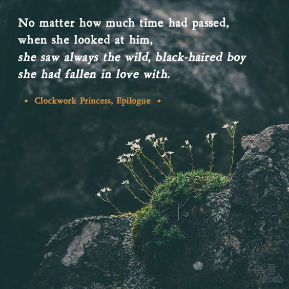 Clockwork Princess quote | Incredibly Sad Quotes That Will Give You Feelings