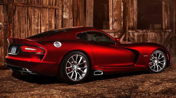 Chrysler Group's 2013 Viper SRT.