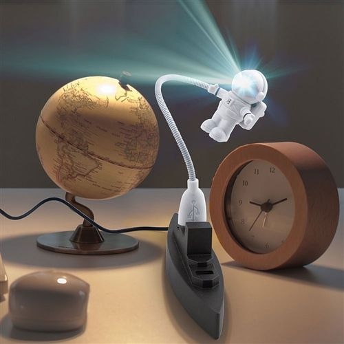 Kikkerland Astronaut USB-Lampe