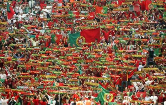 supporter of portugal on euro 2012
