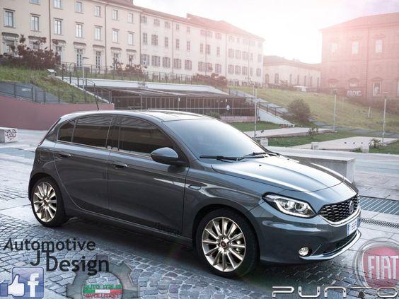 2017 Fiat Punto Rendering By Auto Italia Evolution Fiat Tipo