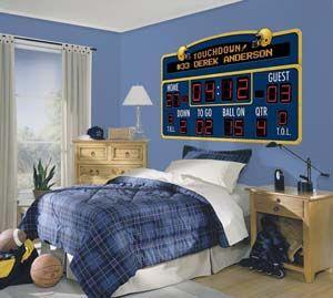 Football Baseball And Boy Rooms On Pinterest