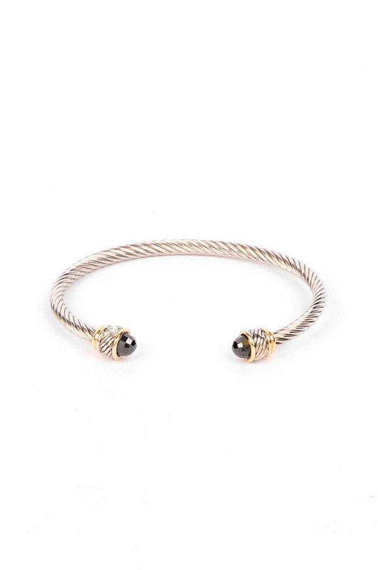cheap cable bracelet