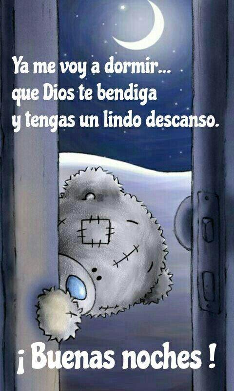 Ya Me Voy A Dormir Buenas Noches Amor Mio Imagenes Con