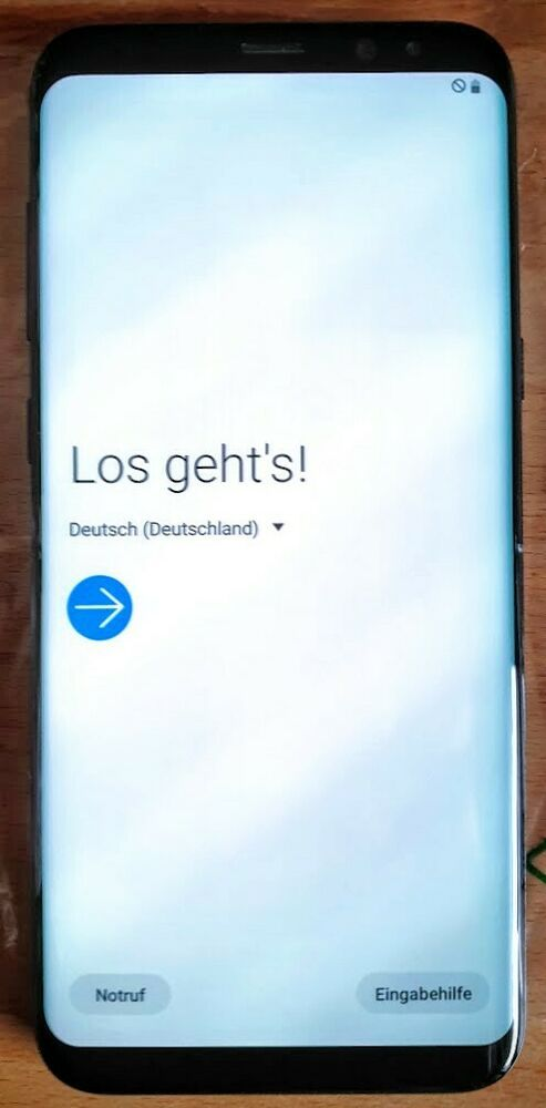 Samsung Galaxy S8 Plus 64gb Midnight Black Ohne Simlock Smartphone In 2020 Notruf Ebay Erste Hilfe