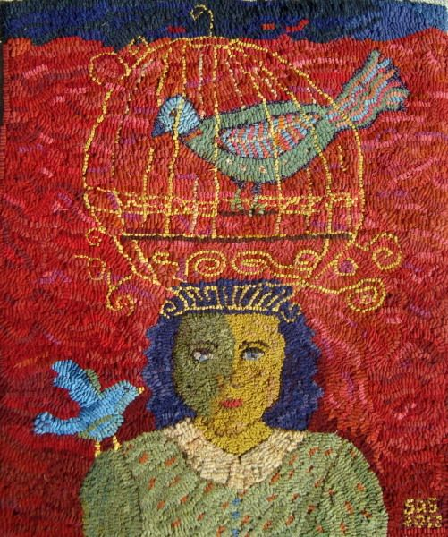 Sharon A Smith rug hooking | Rug hooking | Pinterest ...
