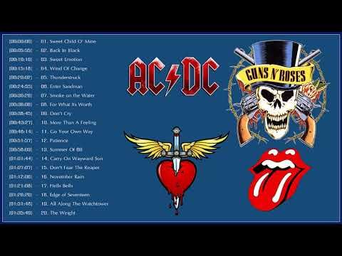 Top 100 Best Rock Songs Of All Time Greatest Classic Rock Songs