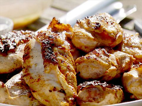 Ina Garten Summer Party Menu: Tequila Citrus Chicken, Corn & Avocado Salad and Roasted Summer Vegetables: