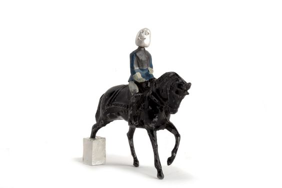 9 - Off the shelf - Central St Martins -  Maria Militsi, Equestrian: