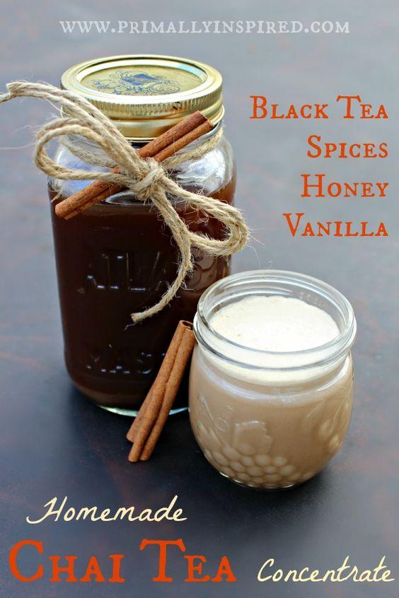 Homemade Chai Tea Concentrate | Recipe | Teas and Homemade