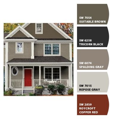 Paint colors from Chip It! by Sherwin-Williams | My Dream House ...