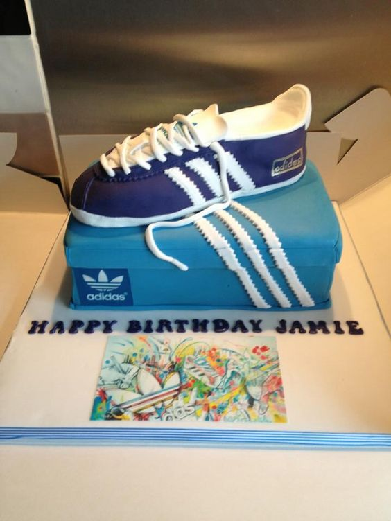 Trainers Adidas And Cakes On Pinterest