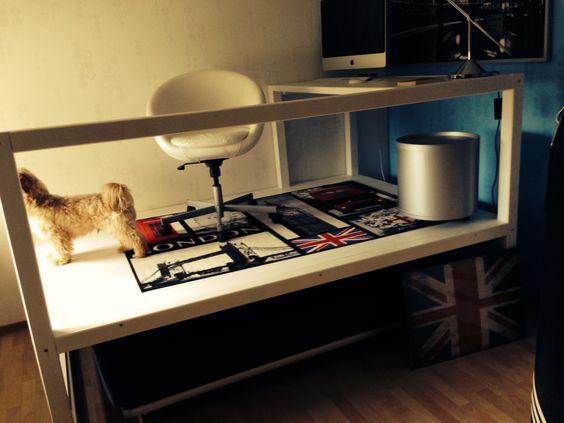 podest podestbett bett auf rollen podest mit. Black Bedroom Furniture Sets. Home Design Ideas
