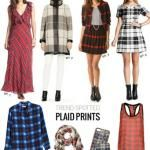 Trend Spotted: Plaid Prints for Fall