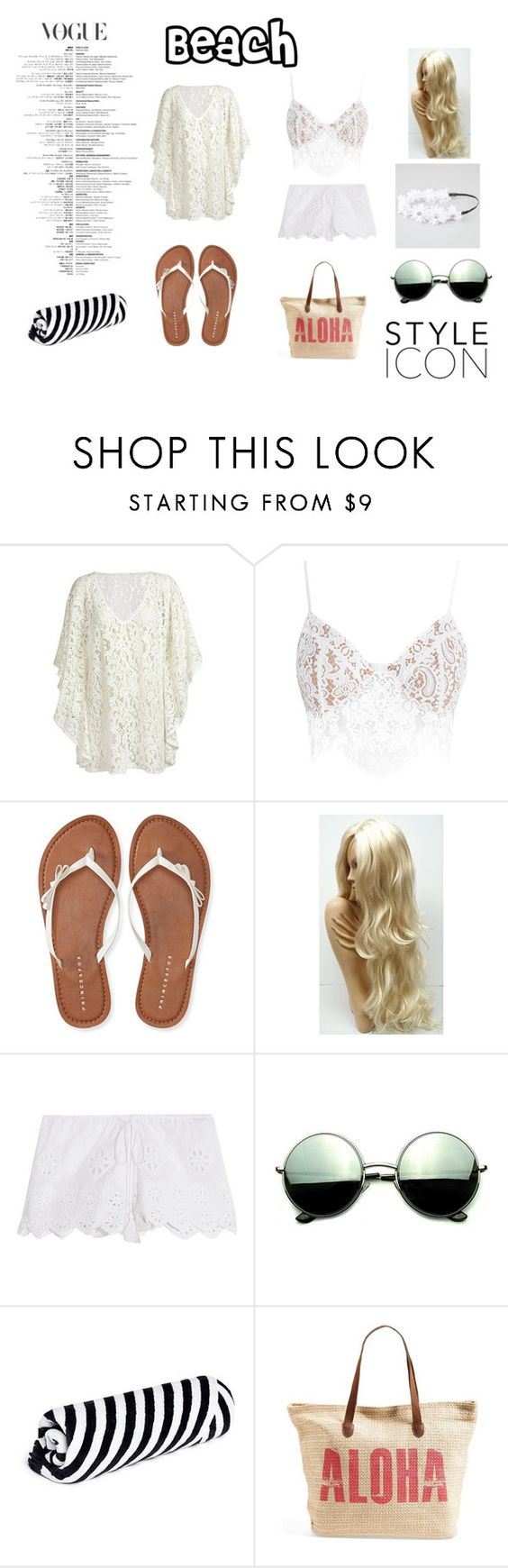 """""""#Unititled14"""" by idkwhatsay6998 ❤ liked on Polyvore featuring For Love & Lemons, Aéropostale, Miguelina, Revo, The Beach People, Rip Curl and Full Tilt"""