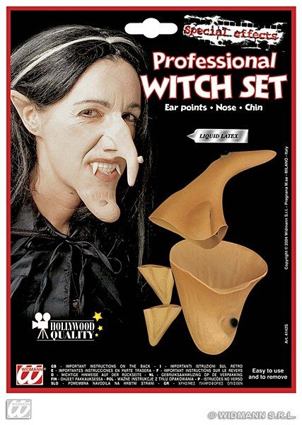 Witch Special Effect Set The ultimate realism awaits you! Shock all your friends and family with this amazing Witch special effect set.Guaranteed to get everyone screaming in no time at all.