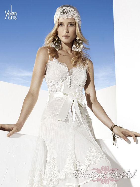 Dimitra's Bridal Couture for YolanCris. www.dimitrasbridal.com Couture Bridal Salons Chicago.