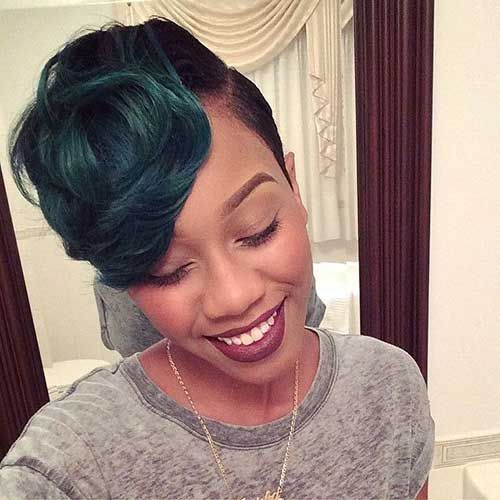 Super Black Women Short Hairstyles And Hairstyles For Black Women On Hairstyles For Women Draintrainus