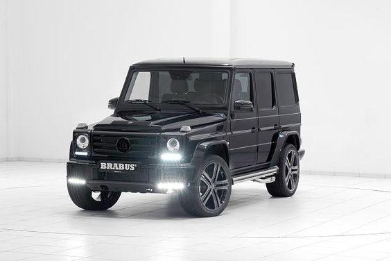 Brabus Mercedes G 500: Black Power mit 500 PS: Diese G-Klasse ist schnell wie ein Porsche - FOCUS Online