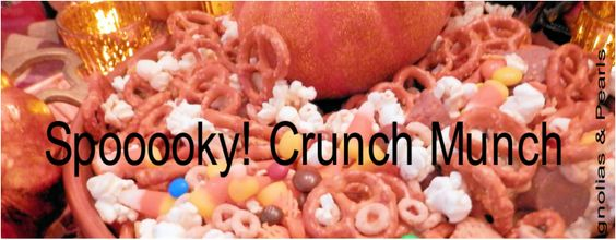 Spooooky! CRUNCH MUNCH…: