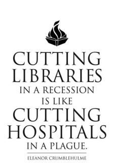 Libraries are essential to culture