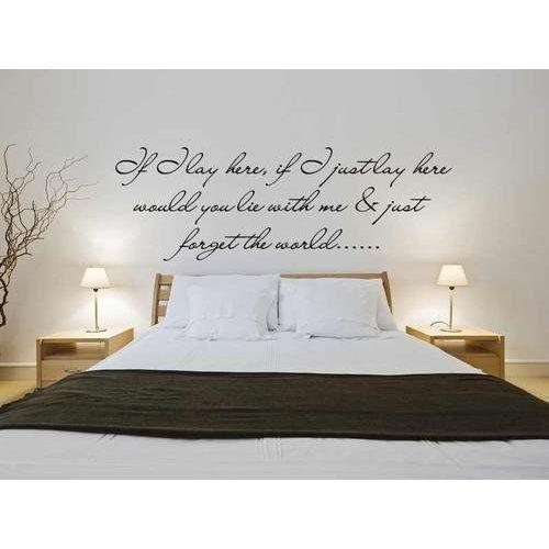 adesivi murali per la camera da letto (389 articoli) una camera da letto curata e arredata con cura è fondamentale per rilassarsi e per facilitare un sonno piacevole. Ishec Hrtka Vlakno Scritte Parete Camera Da Letto Amazon Dreamtoursbg Com
