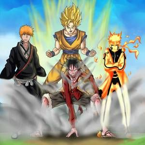 Naruto Vs Ichigo By Mario Reg On Deviantart All Anime Characters Bleach Anime Ichigo Manga Anime