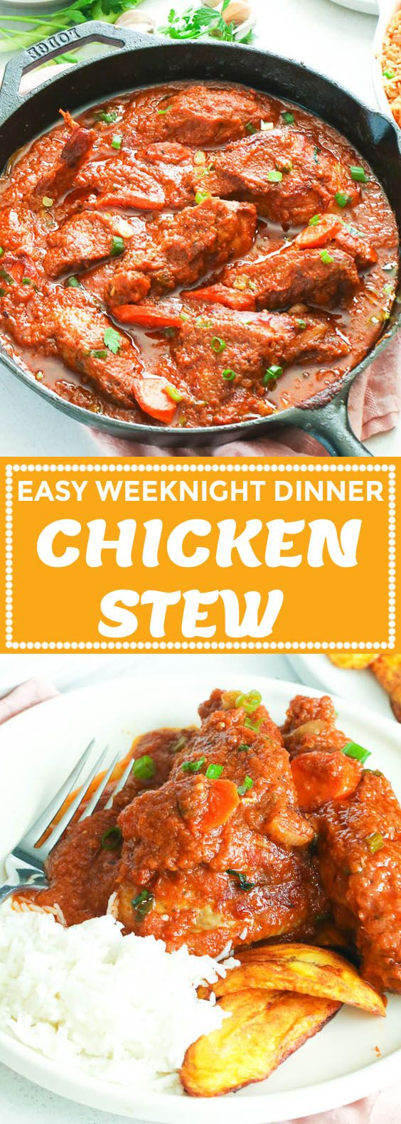 Chicken Stew (African Style) - Immaculate Bites