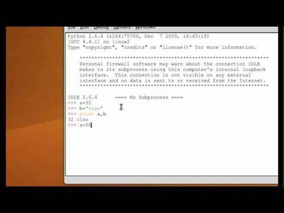 Tutorial 5 - Imparare Python - #Computer #ITA #Italiano #Linguaggio #Print #Programmare #Programmazione #Python #Tutorial #Ubuntu #Video http://wp.me/p7r4xK-Ko
