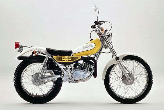 pinterest.com/fra411 #classic #motorbike #trial - Gorgeous little Yamaha TY125 from days gone by.