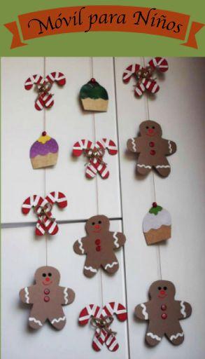Decoraciones navide as con reciclaje para ni os for Decoracion navidena con ninos