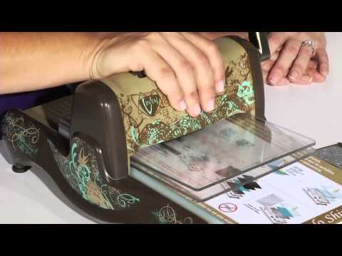 How to use the BIGkick with Sizzix and Vintaj DecoEmboss Folders and DecoEtch Dies