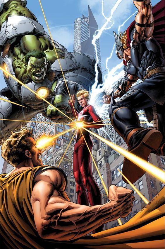 Avengers #09 cover