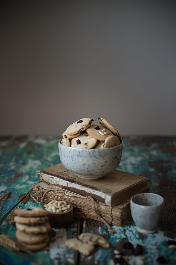 biscotti amarena e pinoli 5 Ilaria Guidi