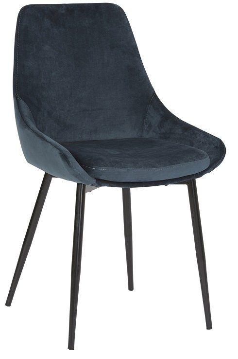 Matstol Velvet Ocean (With images) | Velvet, Dining chairs