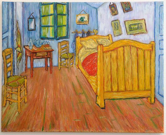 La chambre de van gogh - La chambre a coucher de van gogh ...