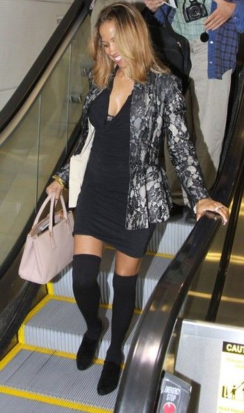 Stacey Dash Spotted at the Airport