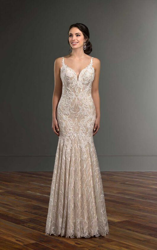 Pin On Modern And Simple Wedding Dresses