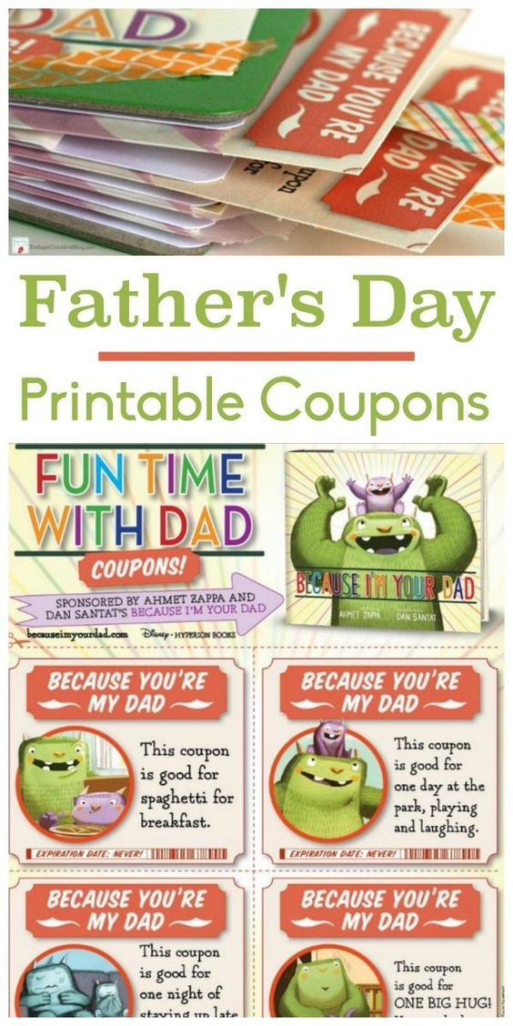 father's day gift coupons