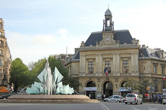 Place Gambetta - Paris (France), via Flickr.