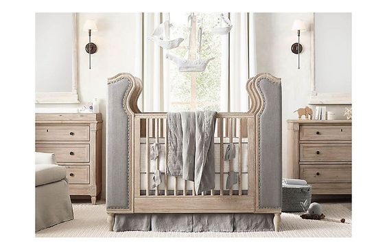Nursery bedding kid furniture and children on pinterest for Restoration hardware furniture quality