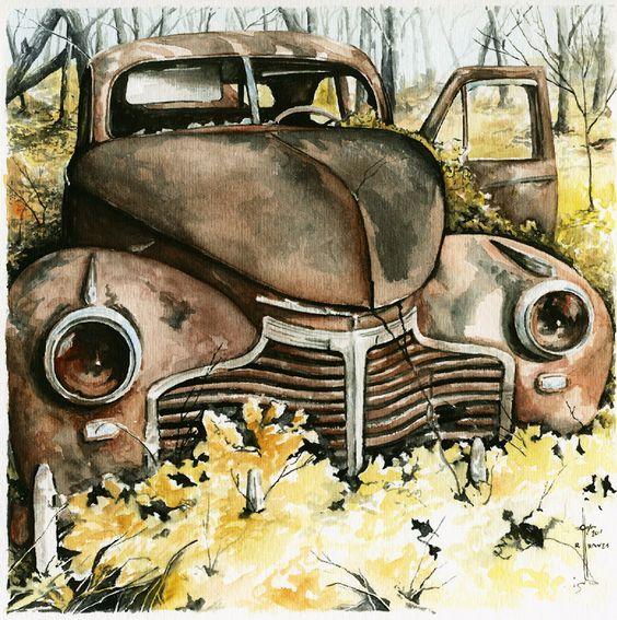 """""""Taylors Old Car"""":"""
