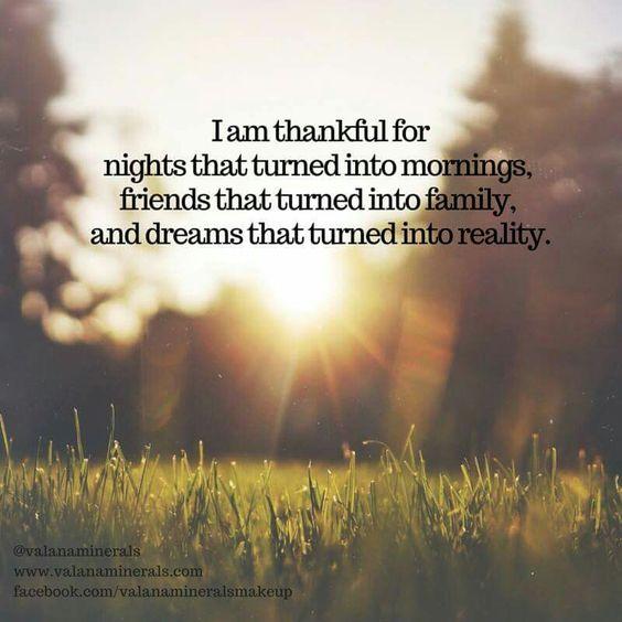 Thankful!
