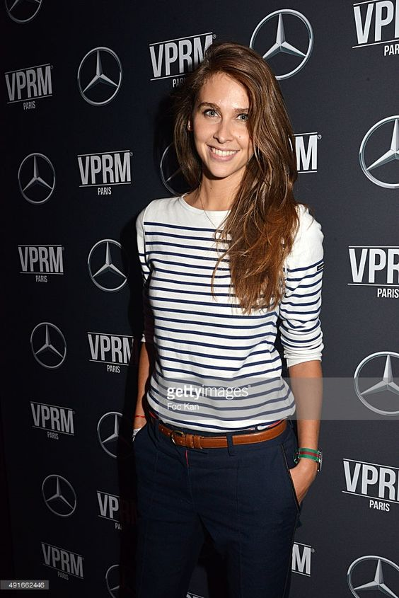 Canal Plus TV journaliste Ophelie Meunier attends the Mercedes Benz Loves Fashion Week Party At Vip Room - Paris Fashion Week Womenswear Spring/Summer 2016 on October 6, 2015 in Paris, France.